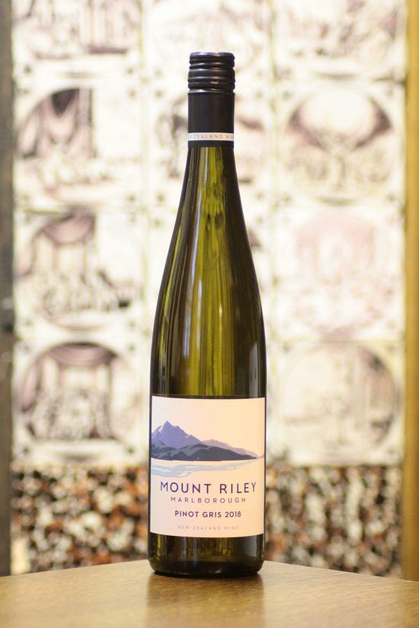 Mount Riley Pinot Gris 2018